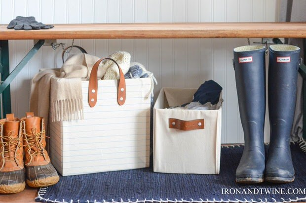 easy storage projects with up-cycled cardboard boxes • the budget Storage Ideas with Cardboard Boxes
