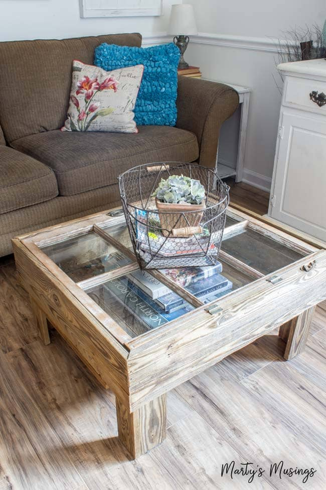 Old Window Coffee Table From Marty S Musings Really Our Eye I Would Love To Put In Memorabilia Wedding Or A Favorite Trip Into