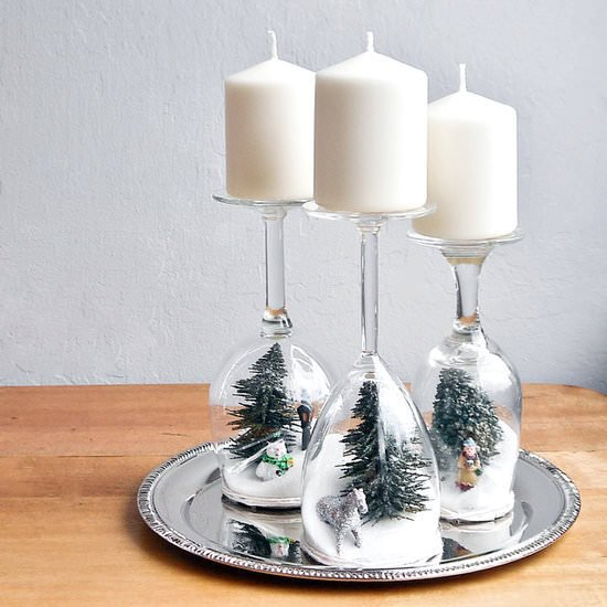 Dollar store holiday decorating-10
