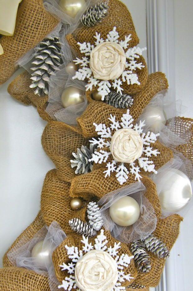 Dollar store holiday decorating-3