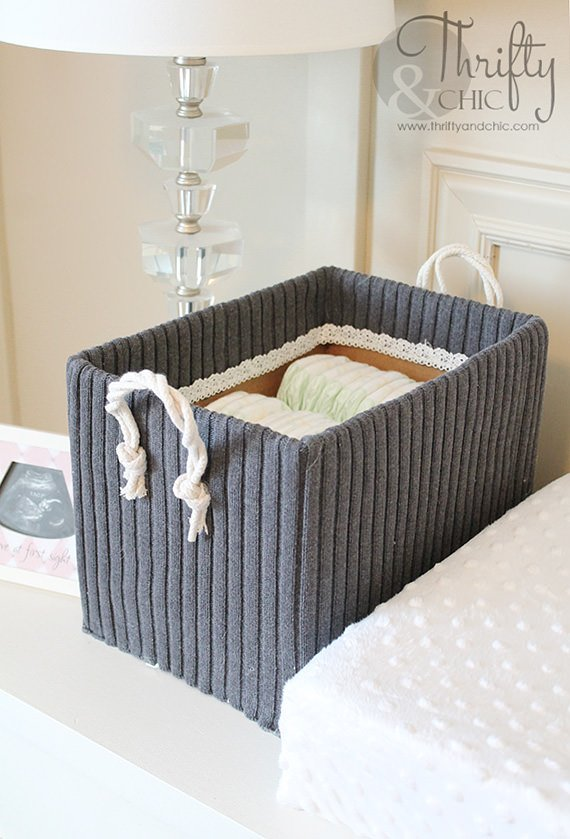 Easy Up-cycled cardboard box storage projects 21 : cute file storage boxes  - Aquiesqueretaro.Com