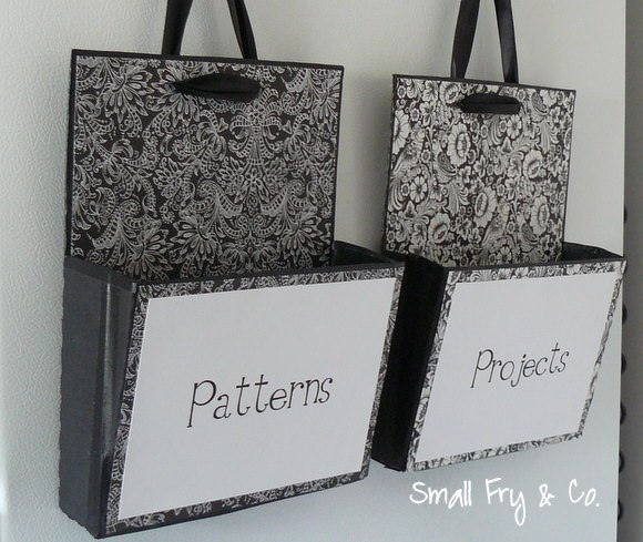 Easy Storage Projects With Up Cycled Cardboard Boxes The Budget