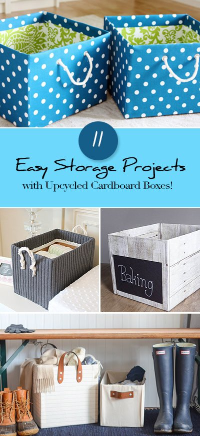 ... Create Storage Projects That Are Inexpensive, And Can Be Custom  Designed For You! So Letu0027s Do It, Make Storage Out Of Those Up Cycled Cardboard  Boxes!