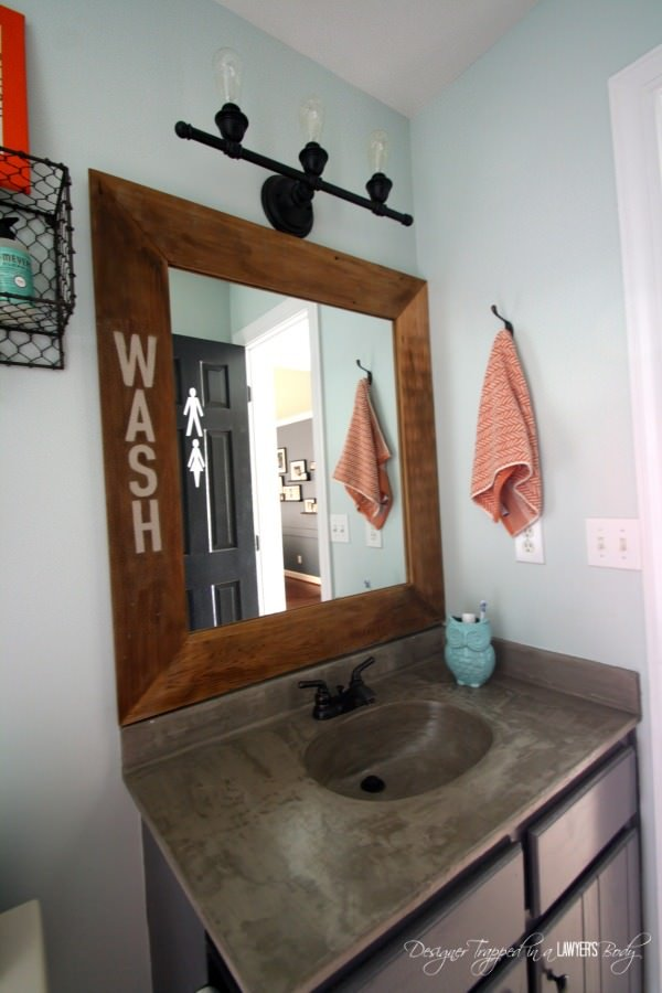 Budget bathroom makeovers-9