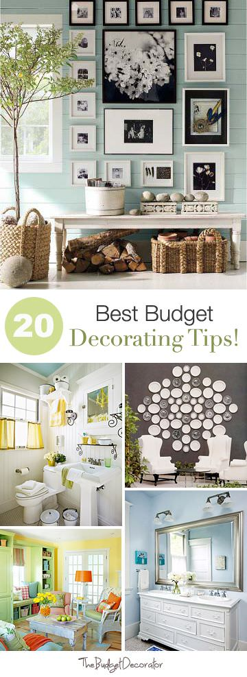 20 Best Budget Decorating Tips The Budget Decorator