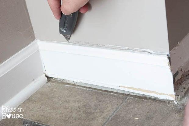 DIY baseboards, molding, trim-2