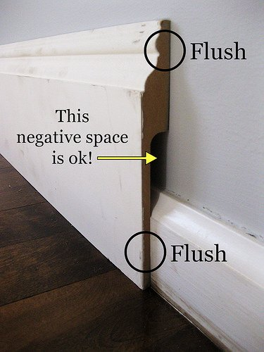 DIY baseboards, molding, trim-5