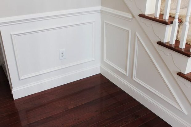 DIY baseboards, molding, trim-8