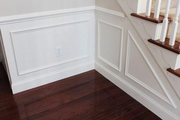 DIY baseboards, molding, trim-8