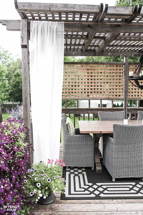 Oh, and if you are really wanting to make your patio or deck amazing, they  have a tutorial for that DIY outdoor dining table too! - 12 DIY Backyard Ideas For Patios, Porches And Decks • The Budget