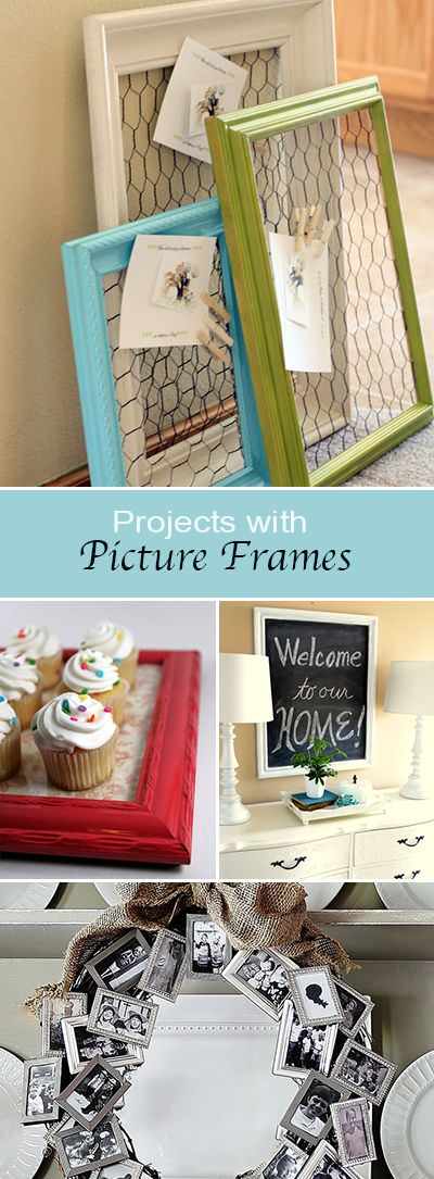 DIY Picture Frame Ideas & Crafts • The Budget Decorator