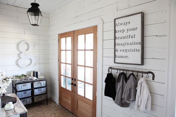 DIY Shiplap Projects O The Budget Decorator