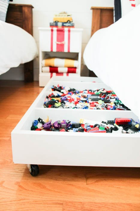 Diy Under Bed Storage The Budget Decorator