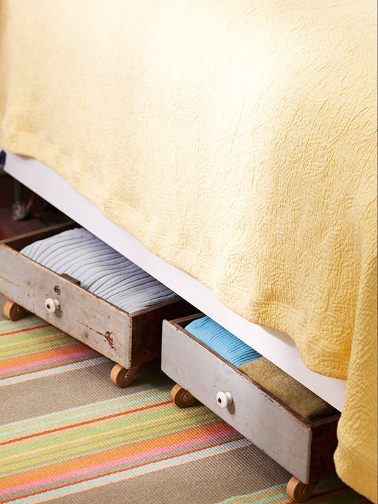 Diy Under Bed Storage