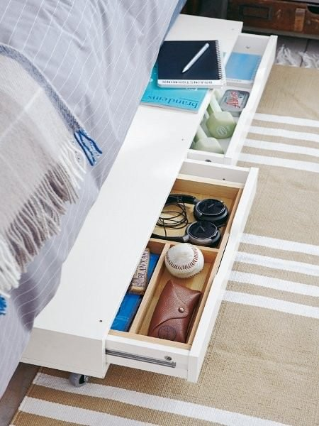 DIY under bed storage-5