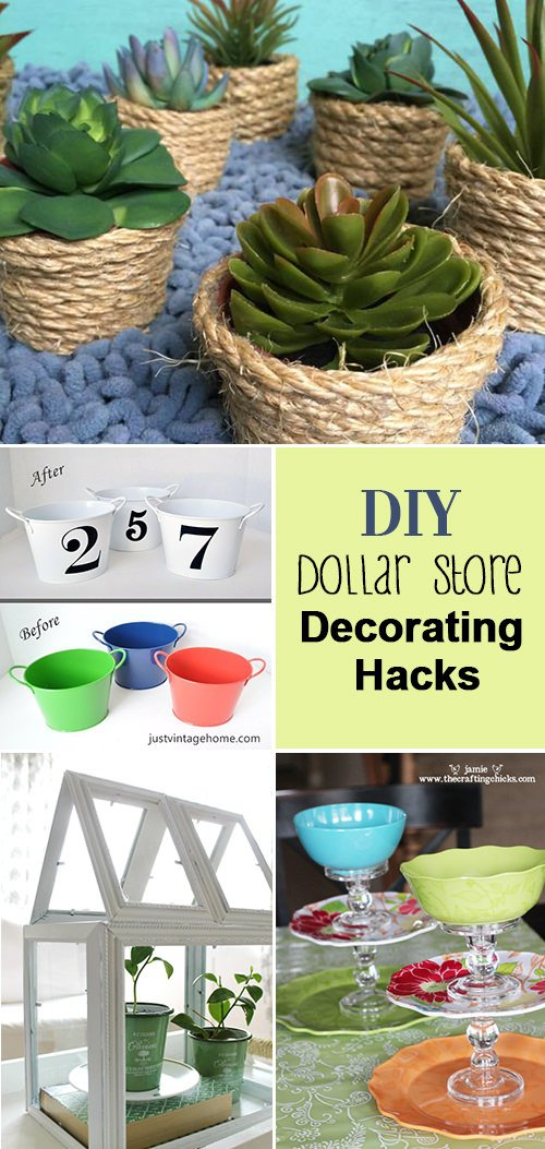 DIY Dollar Store Decorating Hacks • The Budget Decorator