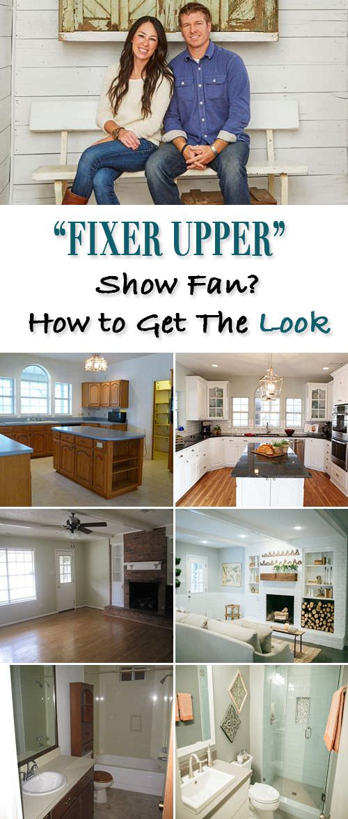 Fixer Upper show - get the look!