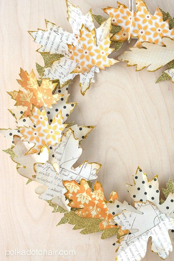 DIY fall leaf decor-12