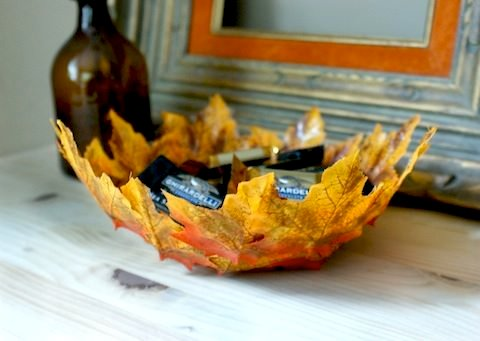 hope you enjoyed all these wonderful diy fall leaf decor projects want more fall diy check out our fall decorating home tours post and see bloggers own - Diy Fall Decor