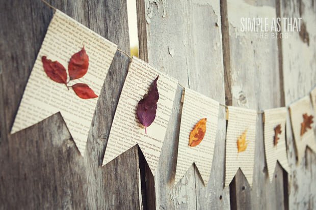 DIY fall leaf decor-2