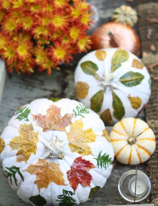 DIY fall leaf decor-3