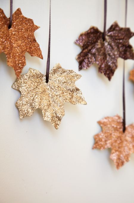 DIY fall leaf decor-5