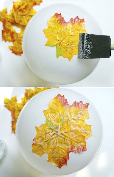 DIY fall leaf decor-9