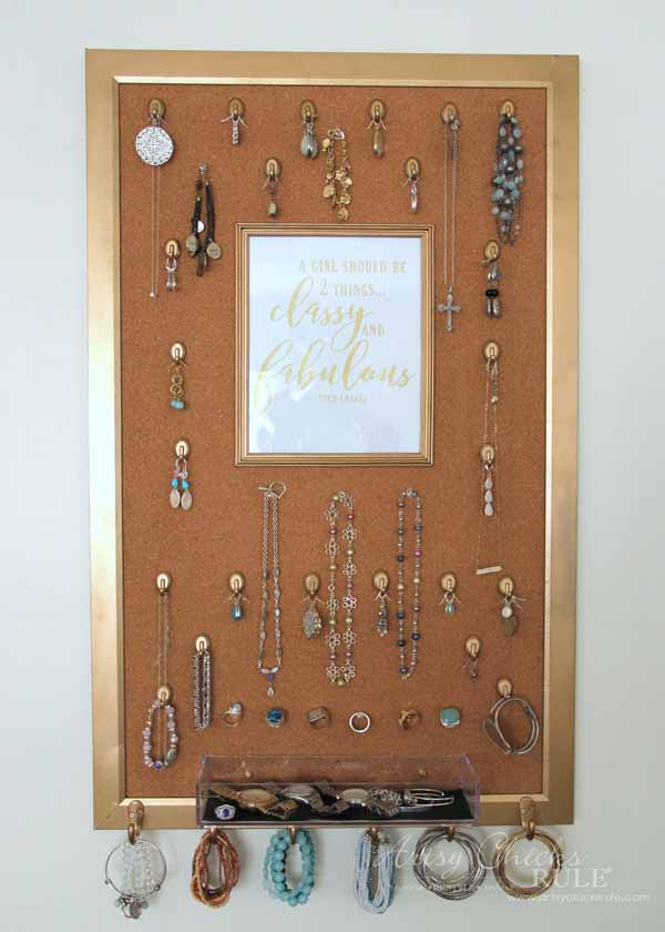 DIY jewelry organizer-5