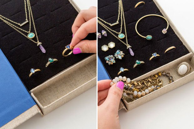 DIY jewelry organizer-9