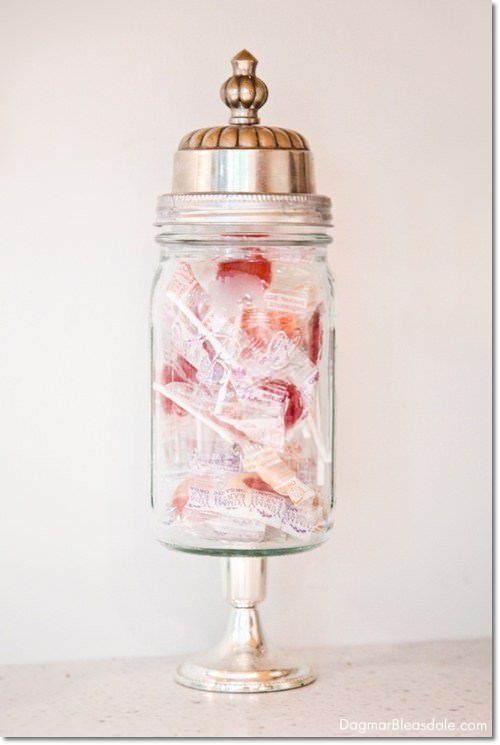 16 Lovely Diy Apothecary Jars Amp Vase Filler Ideas The Budget Decorator