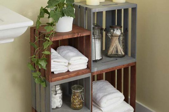 DIY Bathroom Decor & Storage