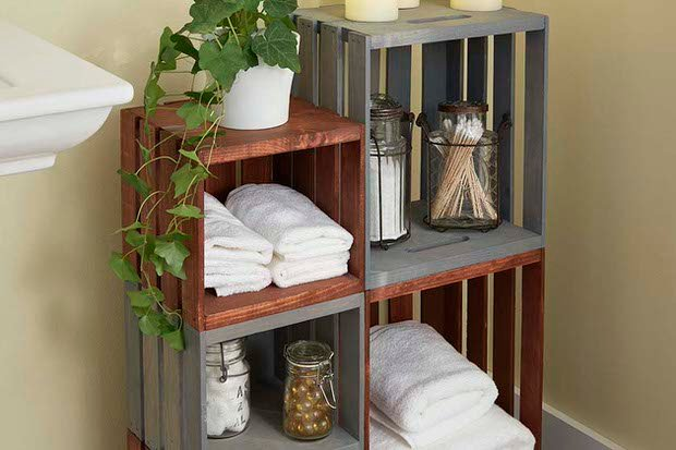 diy bathroom decor storage - Diy Bathroom Decor