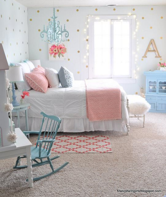 Romantic decorating ideas all around the house the - How to decorate a girl room ...