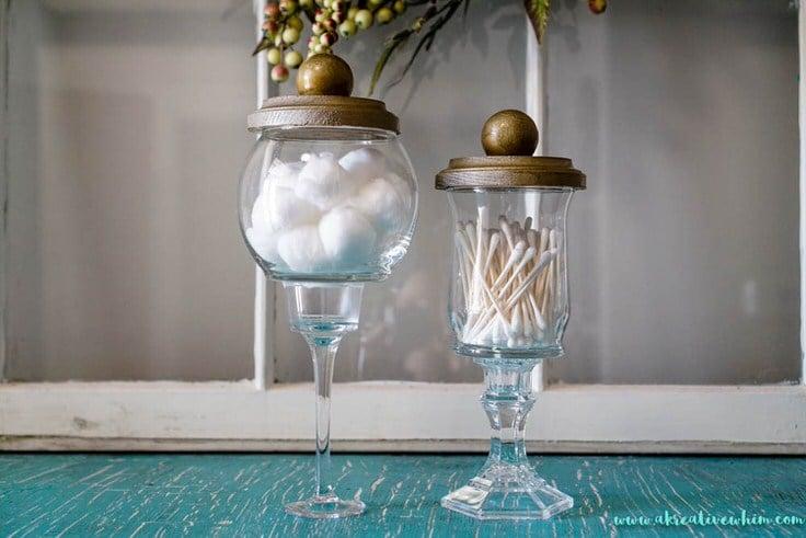Home Architec Ideas Bathroom Glass Jar Ideas