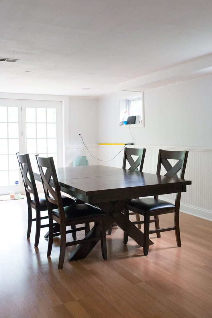 Swell Diy Dining Table Makeovers Before Afters The Budget Download Free Architecture Designs Grimeyleaguecom