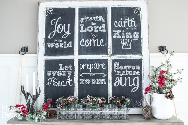 DIY rustic Christmas-11