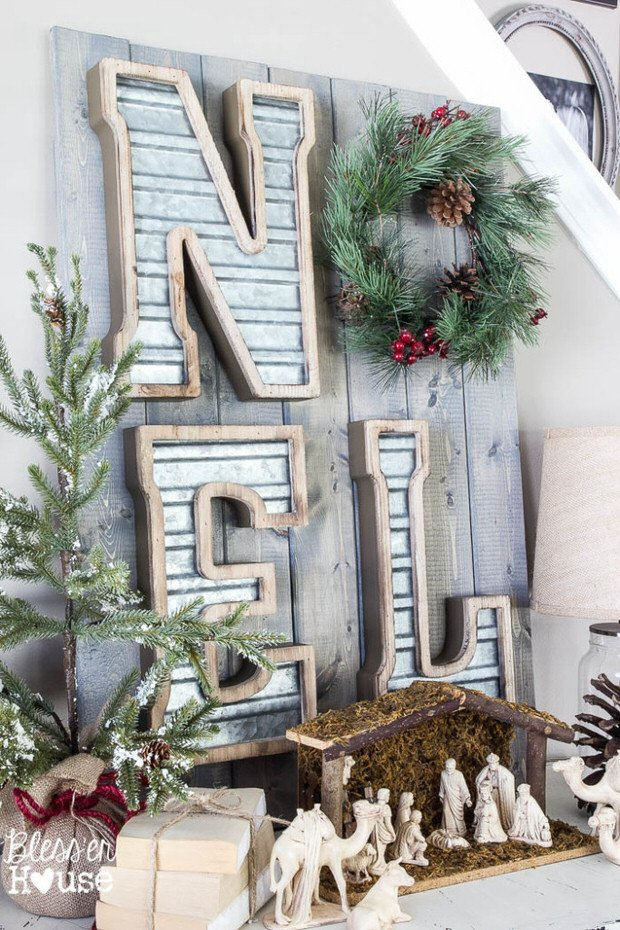 DIY rustic Christmas-12