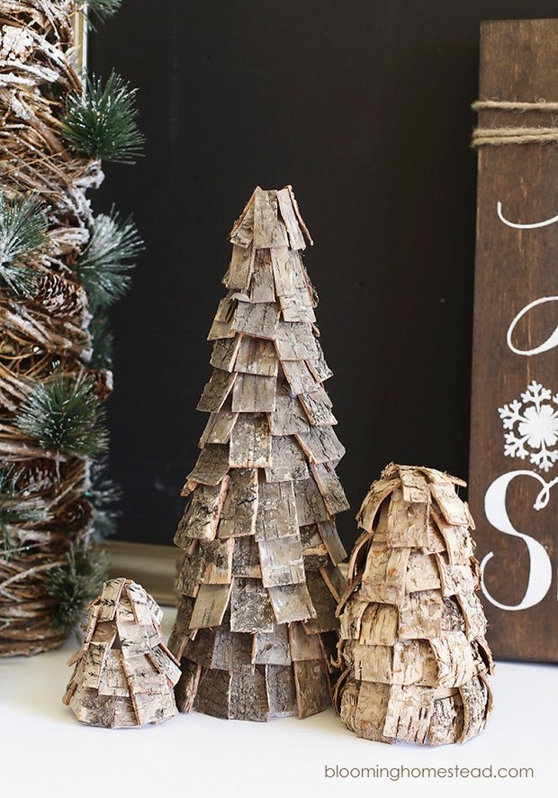 diy rustic christmas 3 - Rustic Christmas Decor