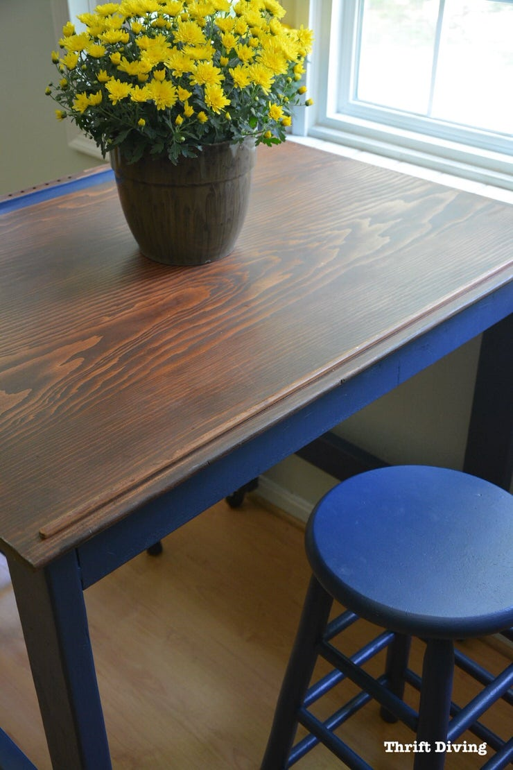 Diy Dining Table Makeovers Before Amp Afters The Budget