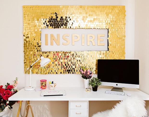 Glamorous gold decor-2