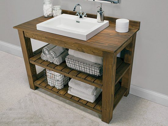 Creative DIY Bathroom Vanity Projects