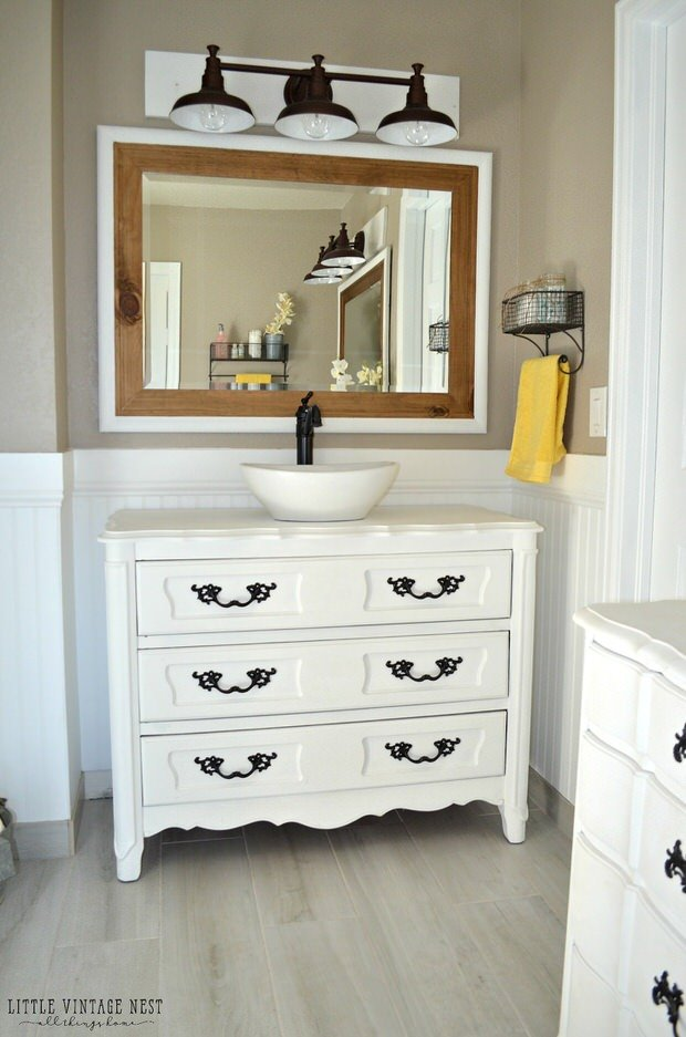 12 Creative Diy Bathroom Vanity Projects The Budget