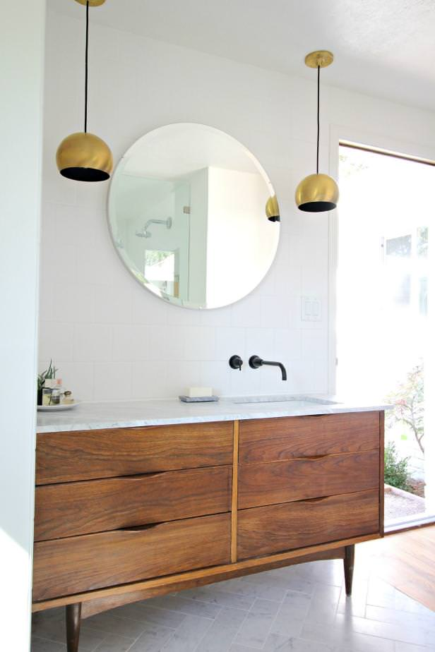 Creative DIY Bathroom Vanity Projects • The Budget Decorator