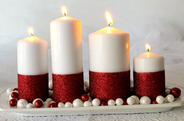 DIY Holiday Projects with Sparkle