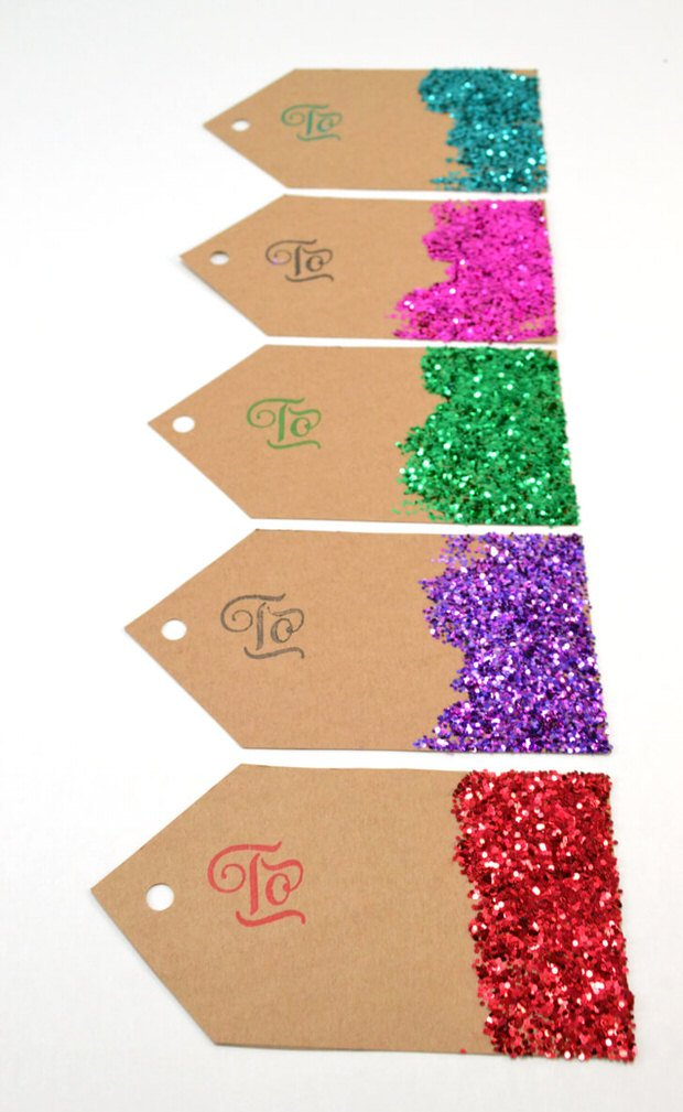 DIY holiday glitter projects-6