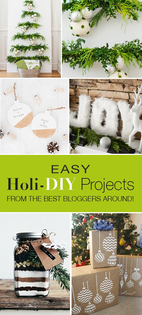 diy christmas projects holiday craft tutorials