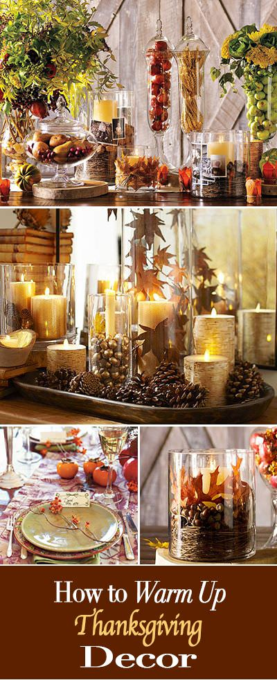 How-To Warm up Your Thanksgiving Decor • The Budget Decorator