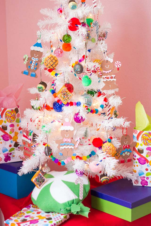 DIY Candyland Christmas Decorations & Ornaments • The Budget Decorator