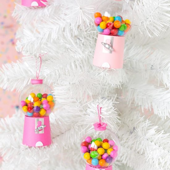DIY Candyland Christmas Decorations & Ornaments