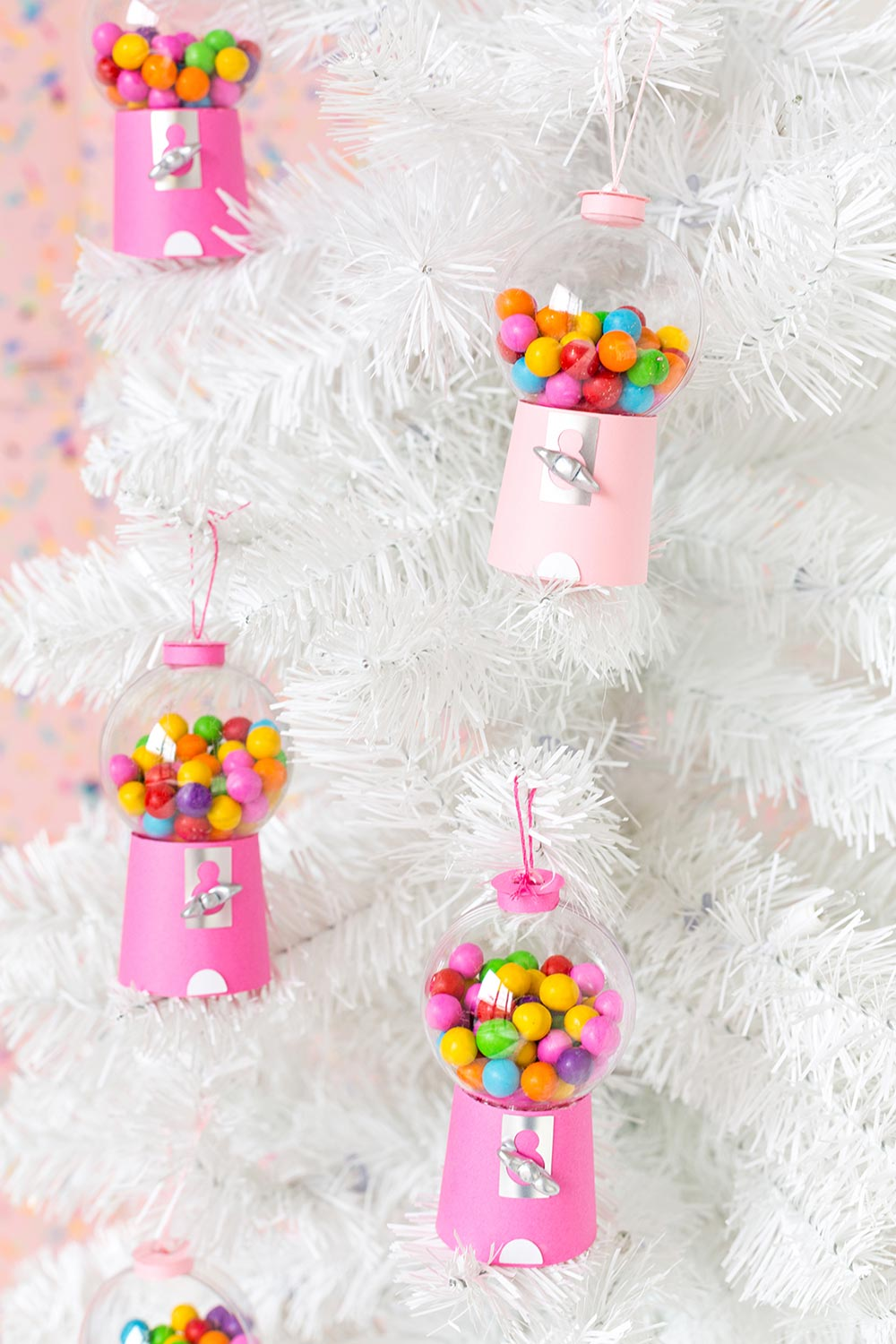 Diy Candyland Christmas Decorations Ornaments The Budget